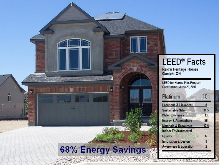 Leed Canada For Homes Project Checklist Home Box Ideas